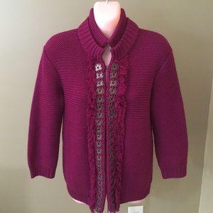 Rachel Roy Cardigan Sweater. Like New!